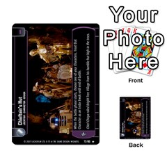 Star Wars Tcg Vi By Jaume Salva I Lara   Multi Purpose Cards (rectangle)   Bxke0hvghvar   Www Artscow Com Front 14