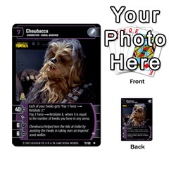 Star Wars Tcg Vi By Jaume Salva I Lara   Multi Purpose Cards (rectangle)   Bxke0hvghvar   Www Artscow Com Front 15