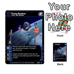 Star Wars Tcg Vi By Jaume Salva I Lara   Multi Purpose Cards (rectangle)   Bxke0hvghvar   Www Artscow Com Front 18