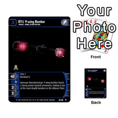 Star Wars Tcg Vi By Jaume Salva I Lara   Multi Purpose Cards (rectangle)   Bxke0hvghvar   Www Artscow Com Front 19