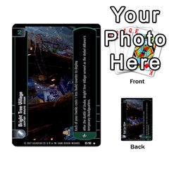 Star Wars Tcg Vi By Jaume Salva I Lara   Multi Purpose Cards (rectangle)   Bxke0hvghvar   Www Artscow Com Front 20