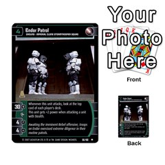 Star Wars Tcg Vi By Jaume Salva I Lara   Multi Purpose Cards (rectangle)   Bxke0hvghvar   Www Artscow Com Front 3