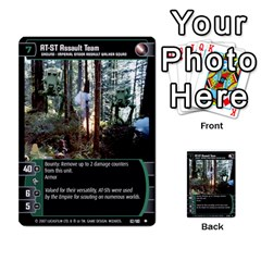 Star Wars Tcg Vi By Jaume Salva I Lara   Multi Purpose Cards (rectangle)   Bxke0hvghvar   Www Artscow Com Front 23