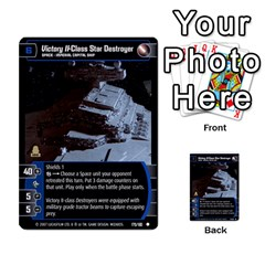Star Wars Tcg Vi By Jaume Salva I Lara   Multi Purpose Cards (rectangle)   Bxke0hvghvar   Www Artscow Com Front 25