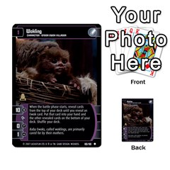 Star Wars Tcg Vi By Jaume Salva I Lara   Multi Purpose Cards (rectangle)   Bxke0hvghvar   Www Artscow Com Front 27
