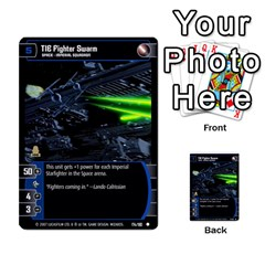 Star Wars Tcg Vi By Jaume Salva I Lara   Multi Purpose Cards (rectangle)   Bxke0hvghvar   Www Artscow Com Front 30