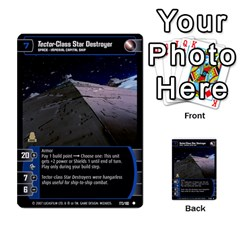 Star Wars Tcg Vi By Jaume Salva I Lara   Multi Purpose Cards (rectangle)   Bxke0hvghvar   Www Artscow Com Front 33