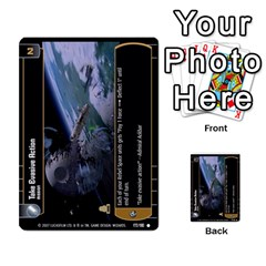 Star Wars Tcg Vi By Jaume Salva I Lara   Multi Purpose Cards (rectangle)   Bxke0hvghvar   Www Artscow Com Front 34