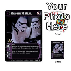 Star Wars Tcg Vi By Jaume Salva I Lara   Multi Purpose Cards (rectangle)   Bxke0hvghvar   Www Artscow Com Front 36