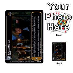 Star Wars Tcg Vi By Jaume Salva I Lara   Multi Purpose Cards (rectangle)   Bxke0hvghvar   Www Artscow Com Front 38