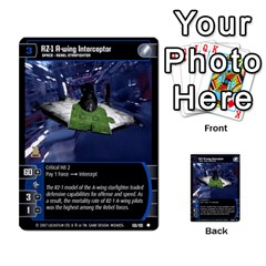 Star Wars Tcg Vi By Jaume Salva I Lara   Multi Purpose Cards (rectangle)   Bxke0hvghvar   Www Artscow Com Front 39