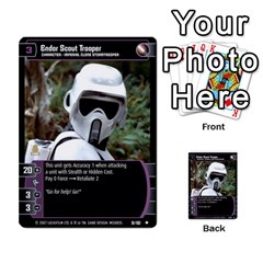 Star Wars Tcg Vi By Jaume Salva I Lara   Multi Purpose Cards (rectangle)   Bxke0hvghvar   Www Artscow Com Front 5