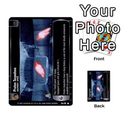 Star Wars Tcg Vi By Jaume Salva I Lara   Multi Purpose Cards (rectangle)   Bxke0hvghvar   Www Artscow Com Front 42