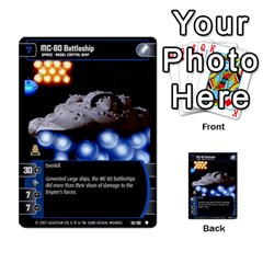 Star Wars Tcg Vi By Jaume Salva I Lara   Multi Purpose Cards (rectangle)   Bxke0hvghvar   Www Artscow Com Front 45