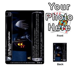 Star Wars Tcg Vi By Jaume Salva I Lara   Multi Purpose Cards (rectangle)   Bxke0hvghvar   Www Artscow Com Front 46