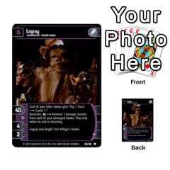 Star Wars Tcg Vi By Jaume Salva I Lara   Multi Purpose Cards (rectangle)   Bxke0hvghvar   Www Artscow Com Front 47