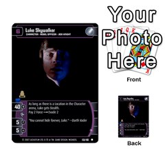 Star Wars Tcg Vi By Jaume Salva I Lara   Multi Purpose Cards (rectangle)   Bxke0hvghvar   Www Artscow Com Front 48