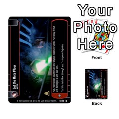 Star Wars Tcg Vi By Jaume Salva I Lara   Multi Purpose Cards (rectangle)   Bxke0hvghvar   Www Artscow Com Front 49