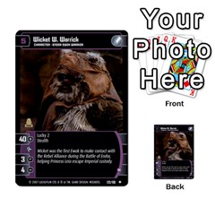 Star Wars Tcg Vii By Jaume Salva I Lara   Multi Purpose Cards (rectangle)   Kdyv3ep6m7bn   Www Artscow Com Front 18