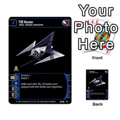 Star Wars Tcg Vii By Jaume Salva I Lara   Multi Purpose Cards (rectangle)   Kdyv3ep6m7bn   Www Artscow Com Front 21