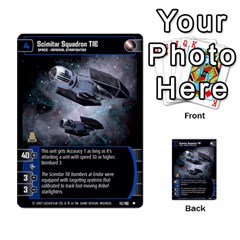 Star Wars Tcg Vii By Jaume Salva I Lara   Multi Purpose Cards (rectangle)   Kdyv3ep6m7bn   Www Artscow Com Front 27