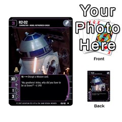 Star Wars Tcg Vii By Jaume Salva I Lara   Multi Purpose Cards (rectangle)   Kdyv3ep6m7bn   Www Artscow Com Front 29