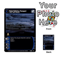 Star Wars Tcg Vii By Jaume Salva I Lara   Multi Purpose Cards (rectangle)   Kdyv3ep6m7bn   Www Artscow Com Front 30