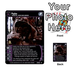Star Wars Tcg Vii By Jaume Salva I Lara   Multi Purpose Cards (rectangle)   Kdyv3ep6m7bn   Www Artscow Com Front 32