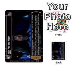 Star Wars Tcg Vii By Jaume Salva I Lara   Multi Purpose Cards (rectangle)   Kdyv3ep6m7bn   Www Artscow Com Front 42