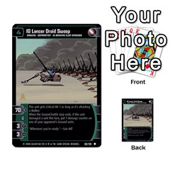 Star Wars Tcg Viii By Jaume Salva I Lara   Multi Purpose Cards (rectangle)   Rrftsaqenfxd   Www Artscow Com Front 52