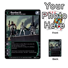 Star Wars Tcg Viii By Jaume Salva I Lara   Multi Purpose Cards (rectangle)   Rrftsaqenfxd   Www Artscow Com Front 7