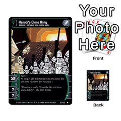 Star Wars Tcg Viii By Jaume Salva I Lara   Multi Purpose Cards (rectangle)   Rrftsaqenfxd   Www Artscow Com Front 8