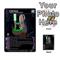 Star Wars Tcg Viii By Jaume Salva I Lara   Multi Purpose Cards (rectangle)   Rrftsaqenfxd   Www Artscow Com Front 10
