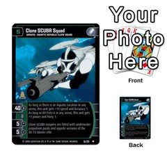 Star Wars Tcg Viii By Jaume Salva I Lara   Multi Purpose Cards (rectangle)   Rrftsaqenfxd   Www Artscow Com Front 25