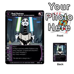Star Wars Tcg Viii By Jaume Salva I Lara   Multi Purpose Cards (rectangle)   Rrftsaqenfxd   Www Artscow Com Front 27