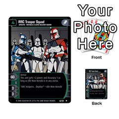 Star Wars Tcg Viii By Jaume Salva I Lara   Multi Purpose Cards (rectangle)   Rrftsaqenfxd   Www Artscow Com Front 28