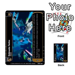 Star Wars Tcg Viii By Jaume Salva I Lara   Multi Purpose Cards (rectangle)   Rrftsaqenfxd   Www Artscow Com Front 34