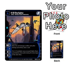 Star Wars Tcg Viii By Jaume Salva I Lara   Multi Purpose Cards (rectangle)   Rrftsaqenfxd   Www Artscow Com Front 35