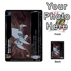 Star Wars Tcg Viii By Jaume Salva I Lara   Multi Purpose Cards (rectangle)   Rrftsaqenfxd   Www Artscow Com Front 36