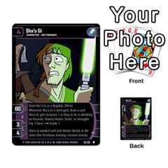 Star Wars Tcg Viii By Jaume Salva I Lara   Multi Purpose Cards (rectangle)   Rrftsaqenfxd   Www Artscow Com Front 38
