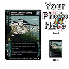 Star Wars Tcg Viii By Jaume Salva I Lara   Multi Purpose Cards (rectangle)   Rrftsaqenfxd   Www Artscow Com Front 46