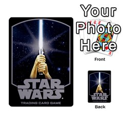 Star Wars Tcg Viii By Jaume Salva I Lara   Multi Purpose Cards (rectangle)   Rrftsaqenfxd   Www Artscow Com Back 48