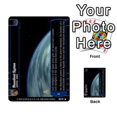 Star Wars Tcg Viii By Jaume Salva I Lara   Multi Purpose Cards (rectangle)   Rrftsaqenfxd   Www Artscow Com Front 49