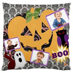 Halloween By Jo Jo   Large Cushion Case (two Sides)   2jf9rupj2cow   Www Artscow Com Back