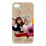 with love - Apple iPhone 4/4S Premium Hardshell Case