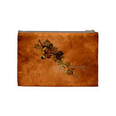 Autumn Delights   Cosmetic Bag (med)  By Picklestar Scraps   Cosmetic Bag (medium)   Vhexbovdk6yp   Www Artscow Com Back
