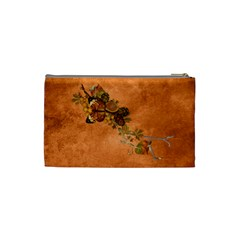 Autumn Delights   Cosmetic Bag (sm)  By Picklestar Scraps   Cosmetic Bag (small)   M1ospcv0u06j   Www Artscow Com Back