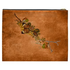 Autumn Delights   Cosmetic Bag (xxxl)  By Picklestar Scraps   Cosmetic Bag (xxxl)   7ati6kk2n67n   Www Artscow Com Back