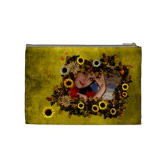 Autumn Delights   Cosmetic Bag (med)  By Picklestar Scraps   Cosmetic Bag (medium)   08b7j3opaxtd   Www Artscow Com Back