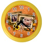Autumn Delights - Color Wall Clock
